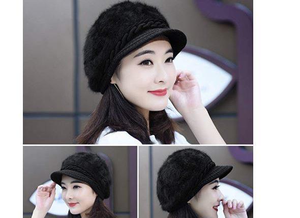 6a6d4d9a23a7c Amazon  Womens Beanie Winter Hat Knit Chunky Faux Fur Warm Linling JUST   7.78 w code !! (reg   11.98)