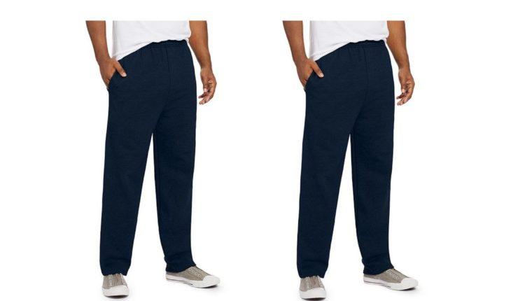 4601e1d42 Hanes Men's ComfortSoft EcoSmart Sweatpants $7, SHIPPED!