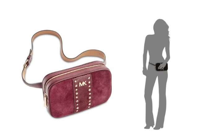 ed0dc940e7b51a Michael Kors Studded Fanny Pack as Low as $52.80 (reg: $88)+ Free Pickup!