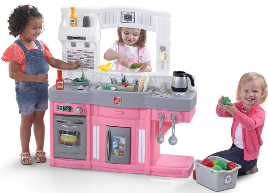 Kohl S Black Friday Deal Step2 Modern Cook Play Kitchen Set Only 34 99 After 15 Kc Free Shipping